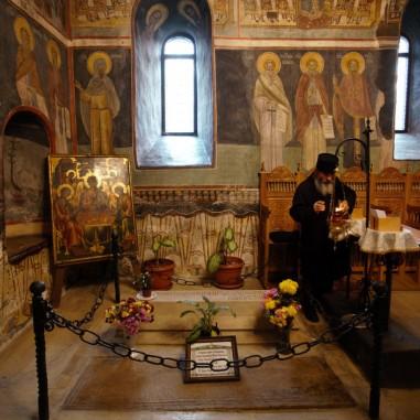 Pronaosul Mănăstirii Cozia